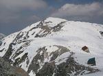 木曾駒ヶ岳と中岳