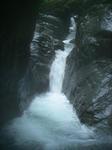 トユ状滝 左手から登り、残置のハーケンを利用