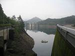 早朝の池原ダム