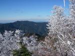 白髭岳からの景色